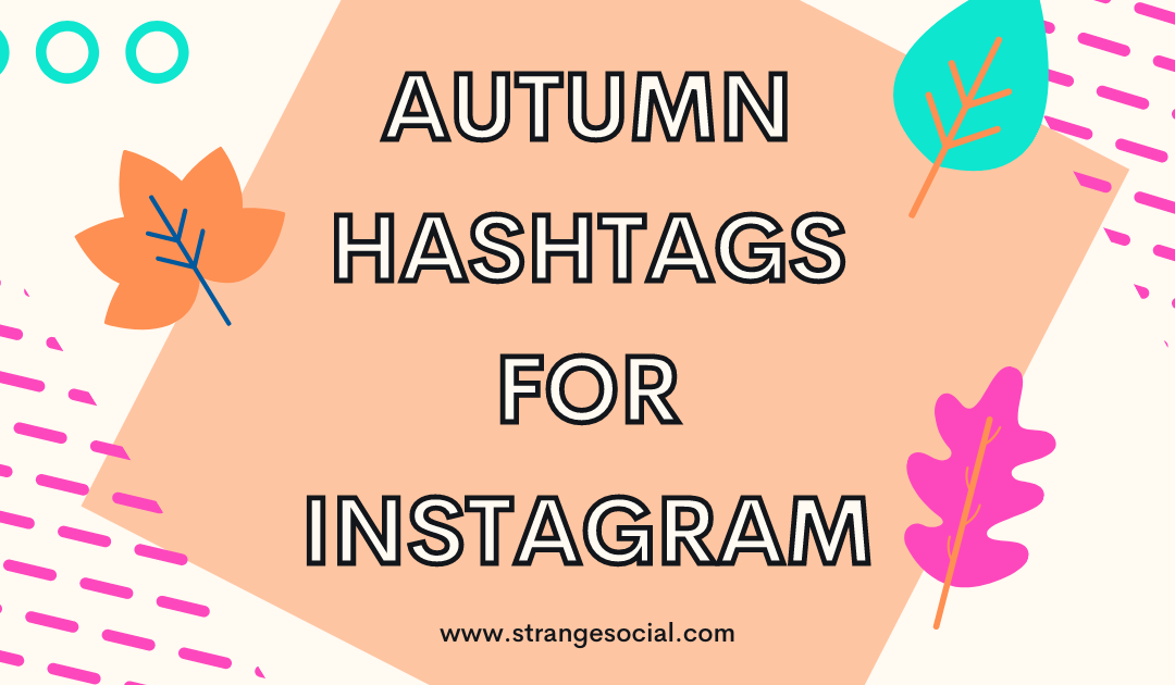 Autumn Hashtags for Instagram Engagement