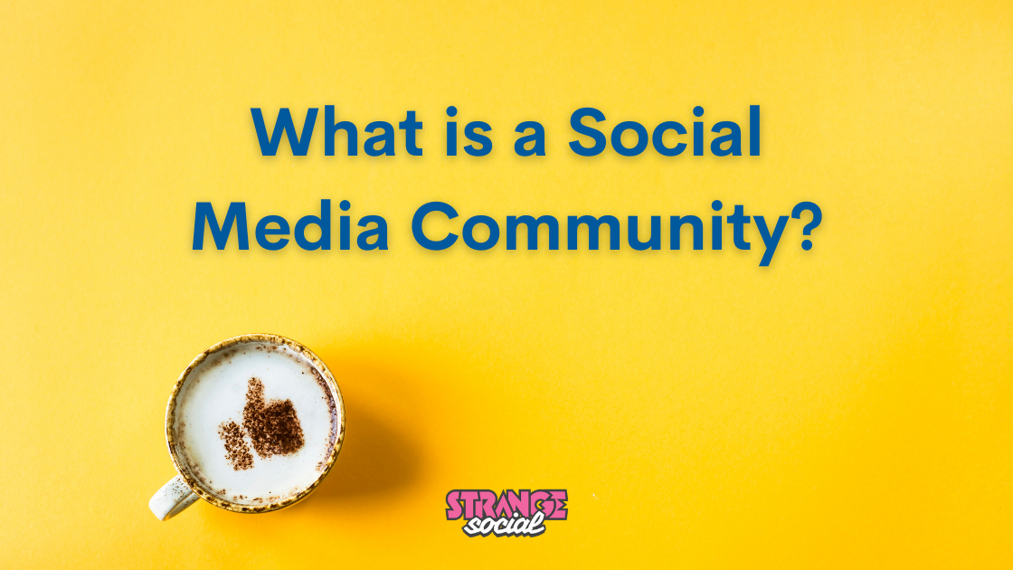Header: What is a social media community?