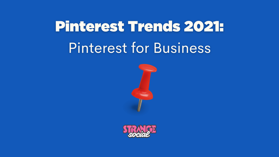 Title image Pinterest Trends 2021 for small business