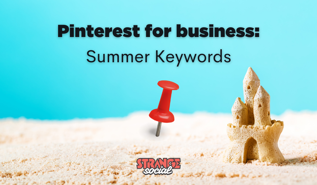 Pinterest keywords for Summer