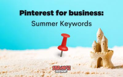 Pinterest keywords for Summer