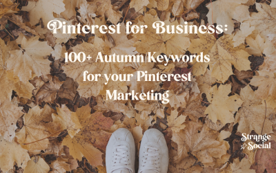 Over 100 Autumn Keywords People are searching for on Pinterest in the UK